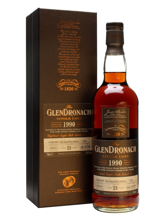 Glendronach 1990 / 23 Year Old / Px Puncheon #1243 Speyside Whisky