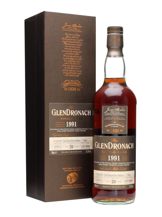 Glendronach 1991 / 20 Year Old / Px Puncheon #3183 Speyside Whisky