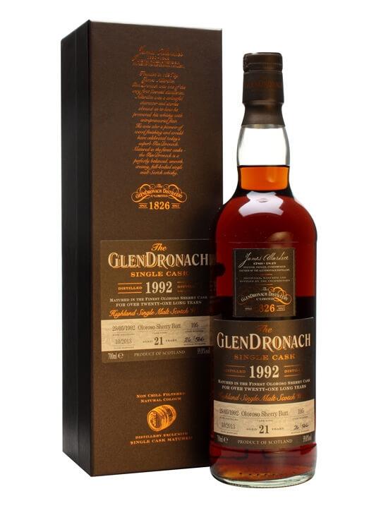 Glendronach 1992 / 21 Year Old / Oloroso Butt #195 Speyside Whisky