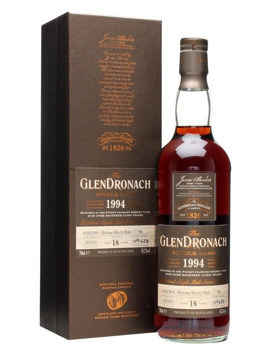 Glendronach 1994 / 18 Year Old / Oloroso Butt #98 Speyside Whisky