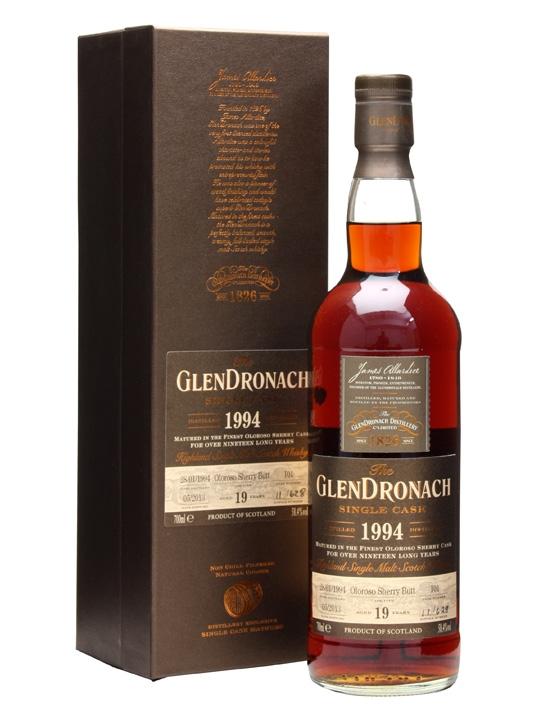 Glendronach 1994 / 19 Year Old / Oloroso Butt #101 Speyside Whisky