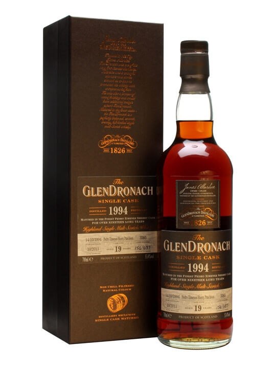 Glendronach 1994 / 19 Year Old / Px Puncheon #3385 Speyside Whisky