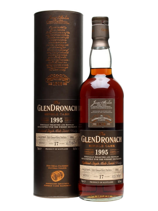 Glendronach 1995 / 17 Year Old / Px Puncheon / Twe Exclusive Speyside Whisky