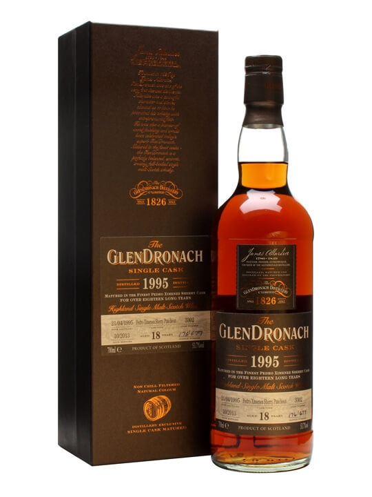 Glendronach 1995 / 18 Year Old / Px Puncheon #3302 Speyside Whisky