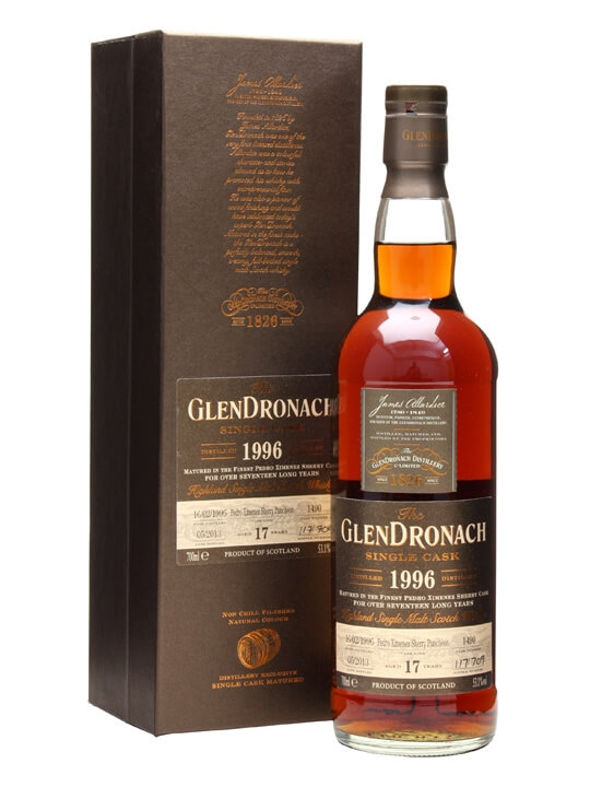 Glendronach 1996 / 17 Year Old / Px Puncheon #1490 Speyside Whisky