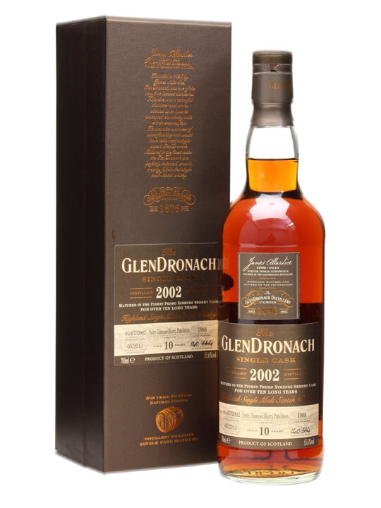 Glendronach 2002 / 10 Year Old / Px Puncheon #1988 Speyside Whisky