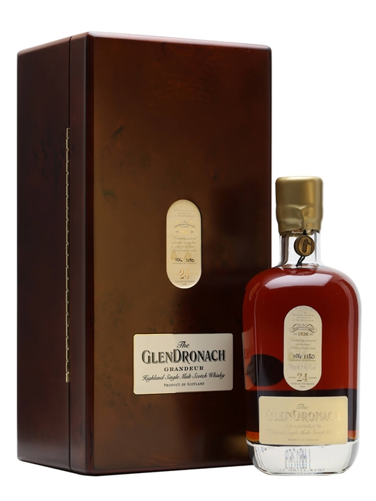 Glendronach Grandeur 24 Year Old Speyside Single Malt Scotch Whisky