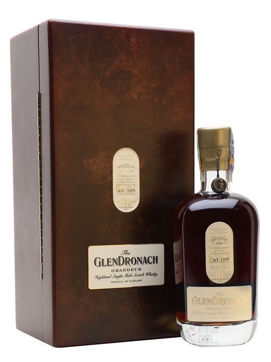Glendronach Grandeur / 31 Year Old / Sherry Cask Speyside Whisky
