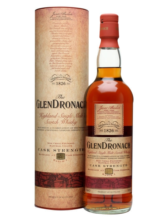 Glendronach Cask Strength / Batch 1 Speyside Single Malt Scotch Whisky
