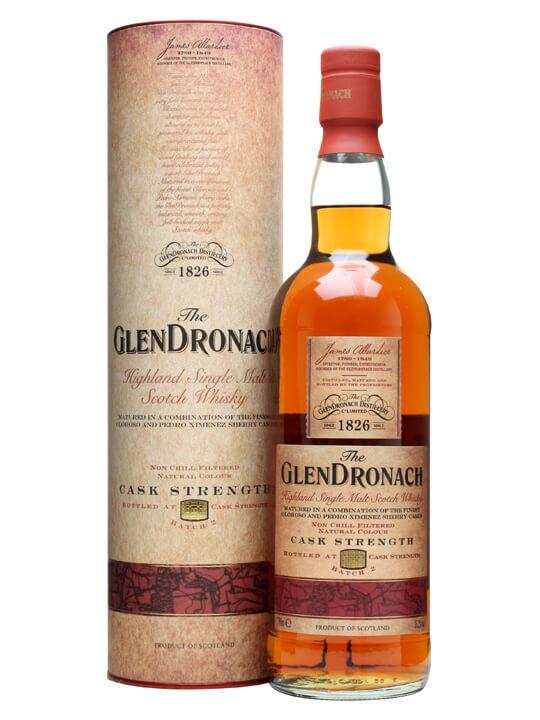 Glendronach Cask Strength / Batch 2 Speyside Single Malt Scotch Whisky