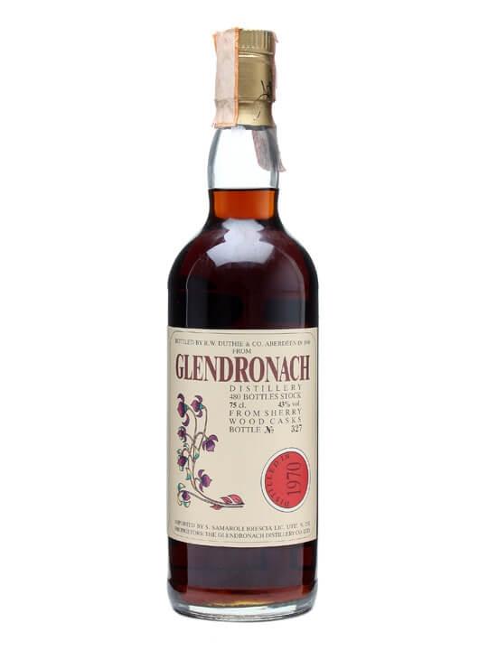 Glendronach 1970 / Bot.1990 / Sherry Cask / Samaroli Speyside Whisky