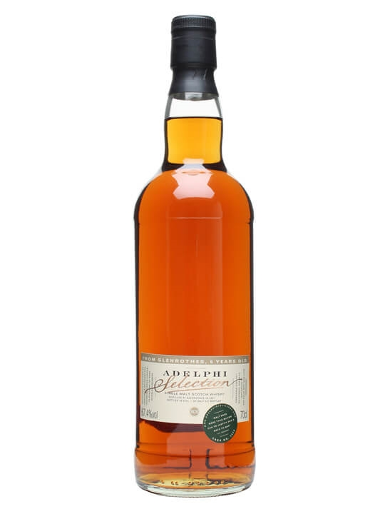 Glenrothes 2007 / 6 Year Old / Cask #3520 / Adelphi Speyside Whisky