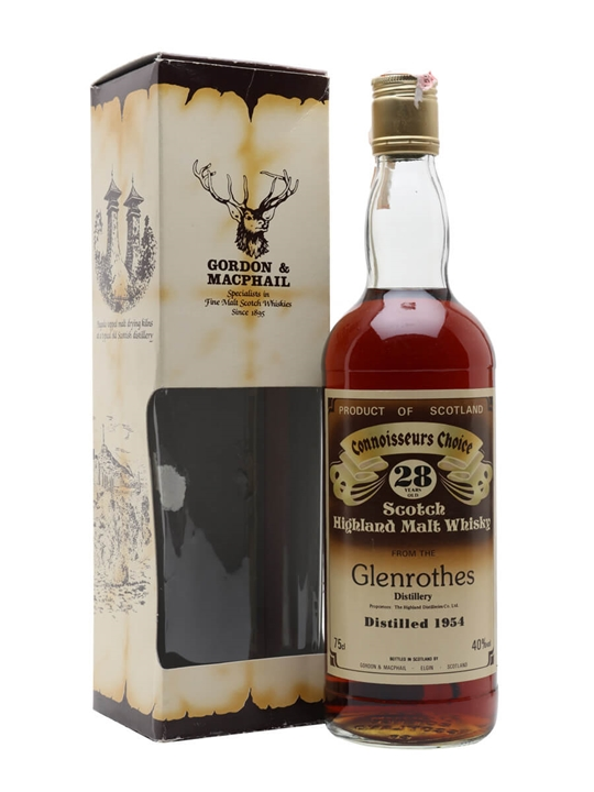 Glenrothes 1954 / 28 Year Old / Connoisseurs Choice Speyside Whisky