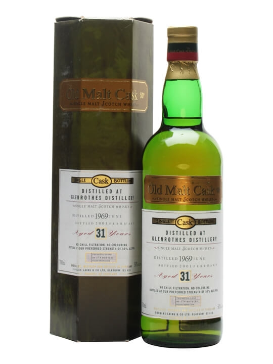 Glenrothes 1969 / 31 Year Old / Old Malt Cask Speyside Whisky
