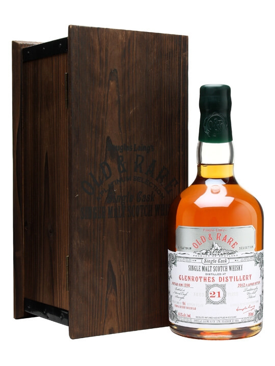 Glenrothes 1990 / 21 Year Old / Sherry Cask Speyside Whisky