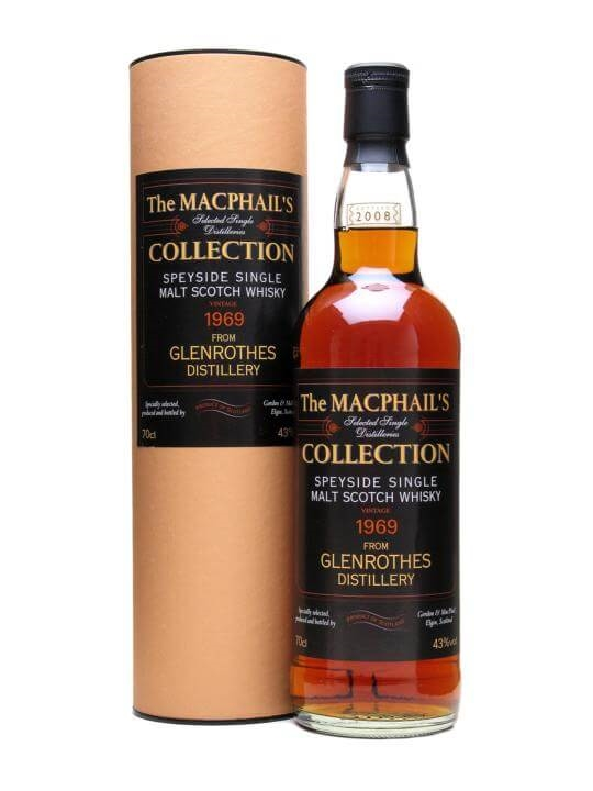 Glenrothes 1969 / Macphail's Collection Speyside Whisky