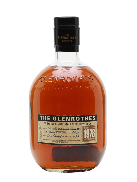 Glenrothes 1978 / Bot.2008 Speyside Single Malt Scotch Whisky