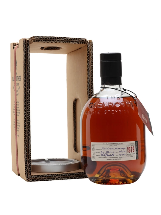 Glenrothes 1979 / Bot.2002 Speyside Single Malt Scotch Whisky