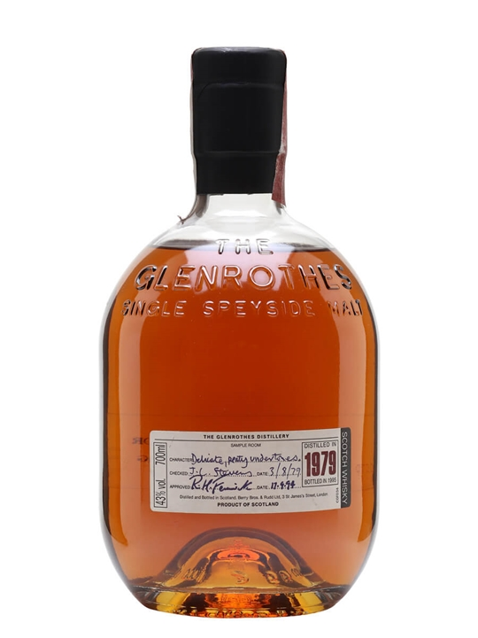 The Glenrothes 1979 / Bot.1995 Speyside Single Malt Scotch Whisky