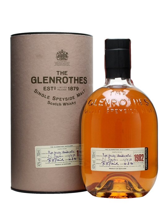 Glenrothes 1982 / Bot.1999 Speyside Single Malt Scotch Whisky