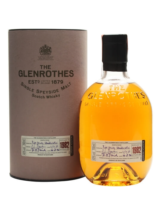 The Glenrothes 1982 / Bot.1996 Speyside Single Malt Scotch Whisky