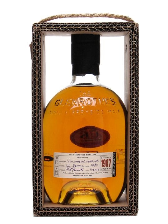 The Glenrothes 1987 / Bot.2005 Speyside Single Malt Scotch Whisky
