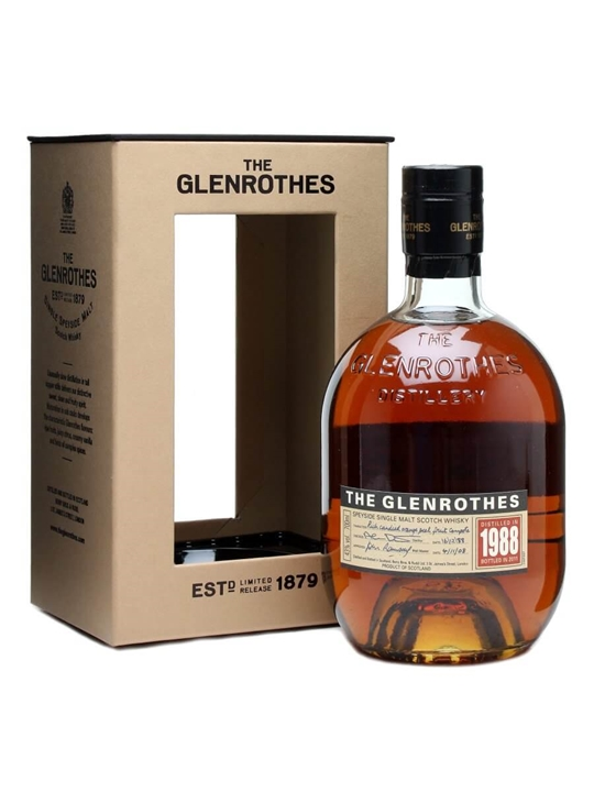 The Glenrothes 1988 Speyside Single Malt Scotch Whisky