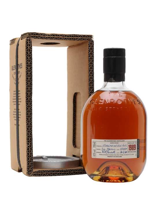 The Glenrothes 1989 / Bot.2000 Speyside Single Malt Scotch Whisky