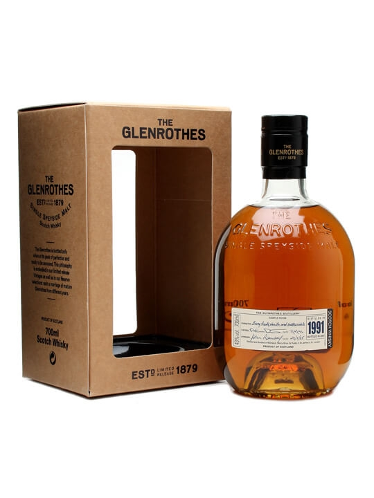 Glenrothes 1991 / Bot.2006 Speyside Single Malt Scotch Whisky