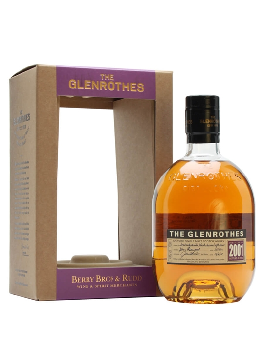 Glenrothes 2001 Speyside Single Malt Scotch Whisky
