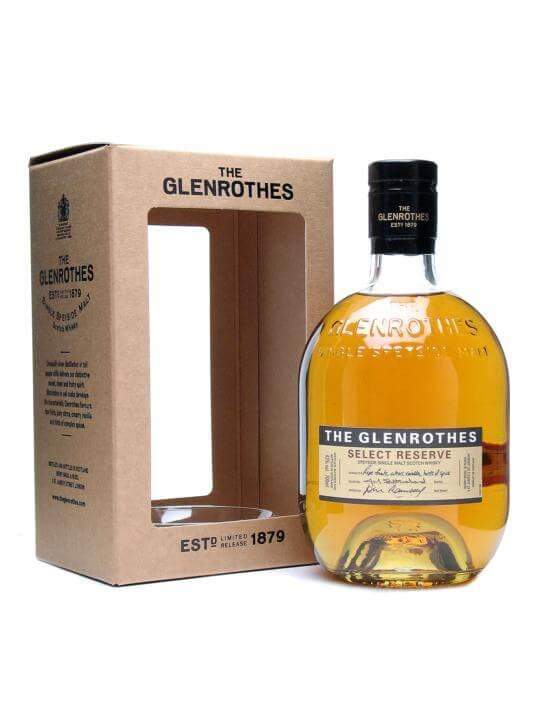 The Glenrothes Select Reserve Speyside Single Malt Scotch Whisky