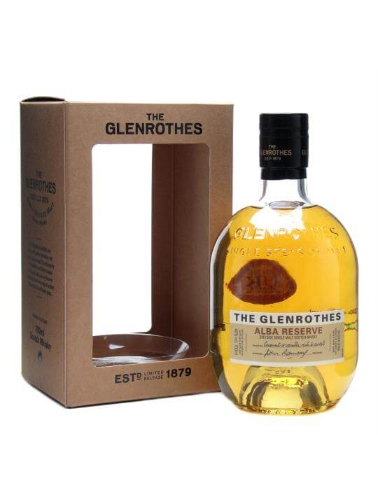 Glenrothes Alba Reserve Speyside Single Malt Scotch Whisky