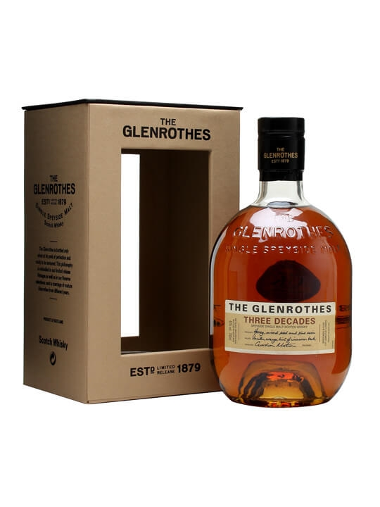 Glenrothes Three Decades Speyside Single Malt Scotch Whisky