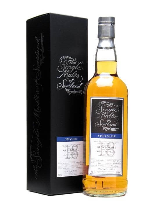 Glenrothes 1990 / 18 Year Old / Sherry Cask Speyside Whisky