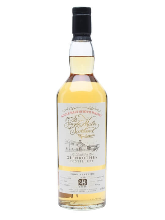 Glenrothes 1990 / 23 Year Old / Single Malts of Scotland Speyside Whisky