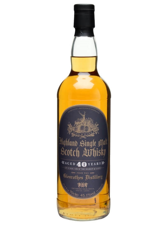 Glenrothes 40 Year Old / The Whisky Exchange Speyside Whisky