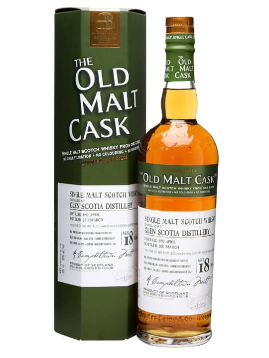 Glen Scotia 1992 / 18 Year Old / Sherry Cask #7017 Campbeltown Whisky