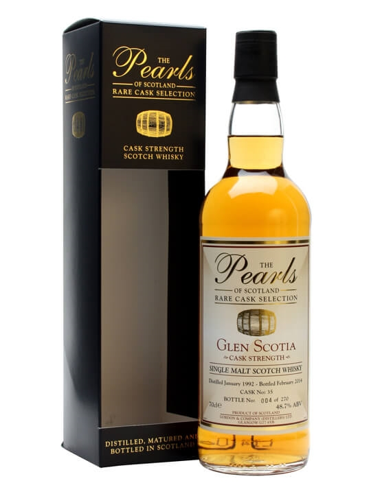 Glen Scotia 1992 / 22 Year Old / Pearls of Scotland Campbeltown Whisky