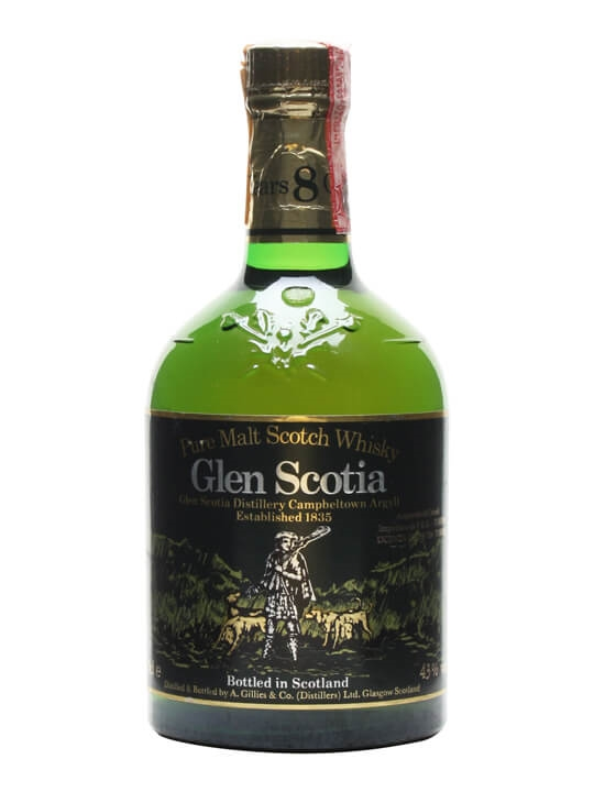Glen Scotia 8 Year Old / Bot.1980s Campbeltown Whisky