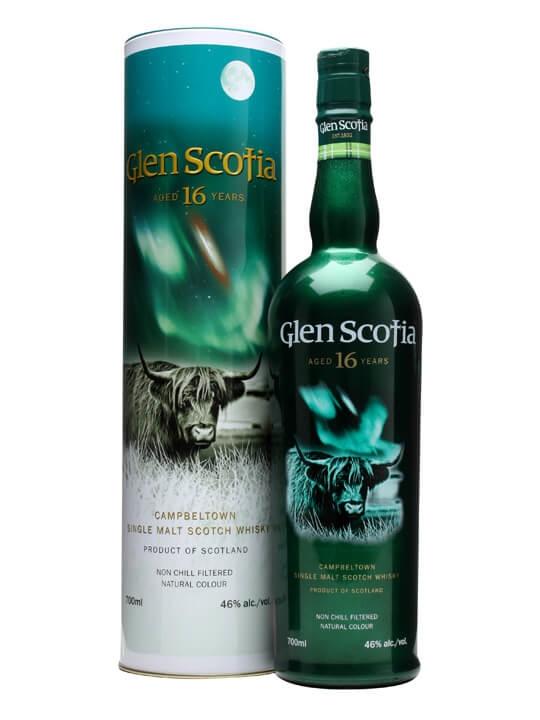 Glen Scotia 16 Year Old Campbeltown Single Malt Scotch Whisky