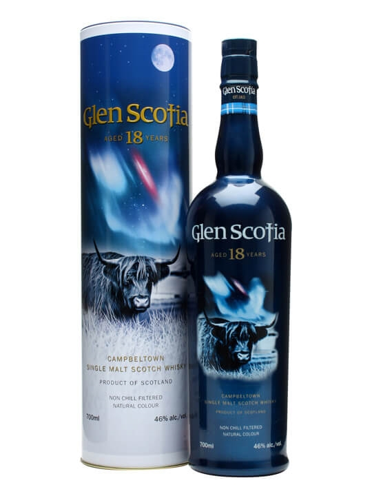 Glen Scotia 18 Year Old Campbeltown Single Malt Scotch Whisky