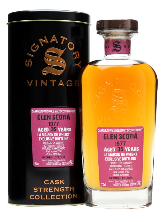 Glen Scotia 1977 / 35 Year Old / Cask #2750 Campbeltown Whisky