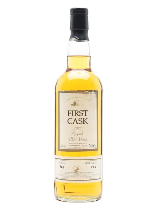 Glen Spey 1976 / 30 Year Old / Cask #366 / First Cask Speyside Whisky