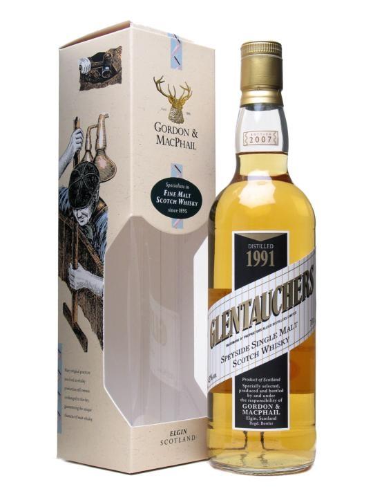 Glentauchers 1991 / Gordon & Macphail Speyside Whisky