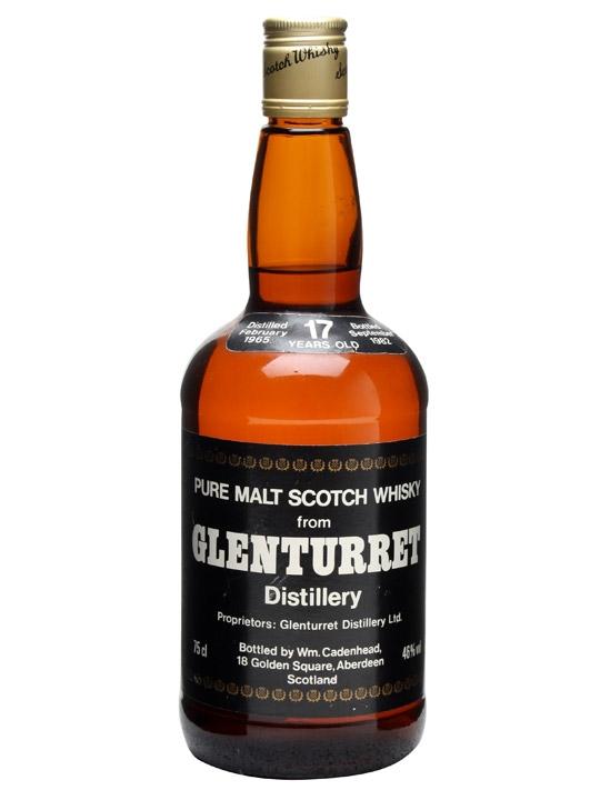 Glenturret 1965 / 17 Year Old / Cadenhead's Highland Whisky