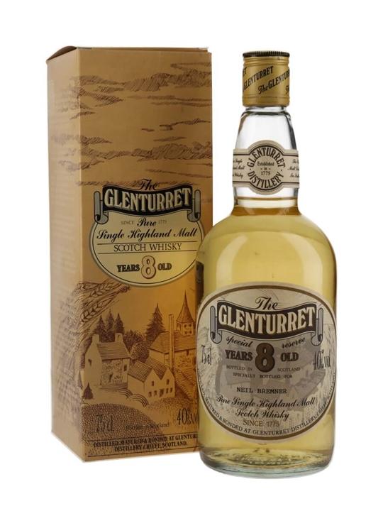 Glenturret 8 Year Old / Bot.1980s Highland Single Malt Scotch Whisky