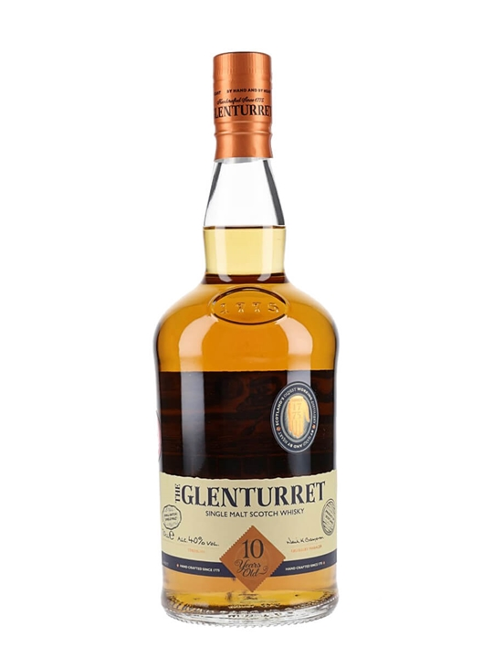 Glenturret 10 Year Old Highland Single Malt Scotch Whisky