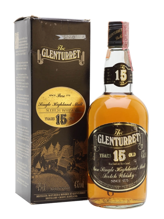 Glenturret 15 Year Old / Bot.1980s Highland Single Malt Scotch Whisky