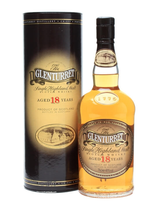 Glenturret 18 Year Old Highland Single Malt Scotch Whisky