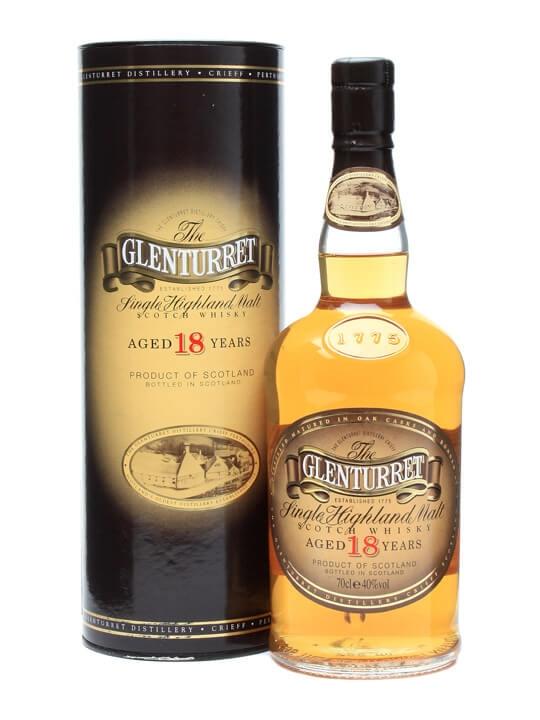 Glenturret 18 Year Old Highland Single Malt Scotch Whisky